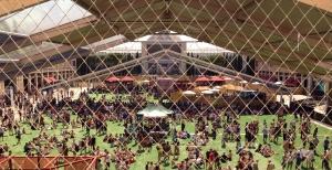 Instalaciones y público del Festival Sonar, Barcelona junio 2013.